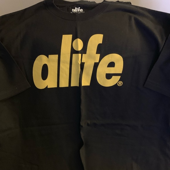 Alife Other - Alife t-shirt black yellow xxl new no tags e4211dd0536b